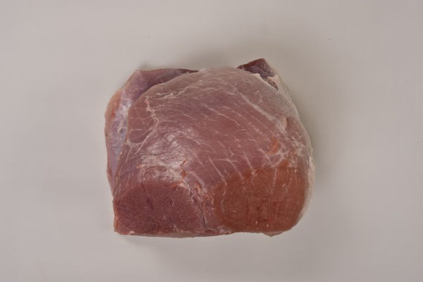Rolled ham without topside cap