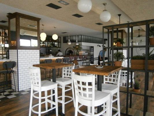 Restaurante Santino - comedor