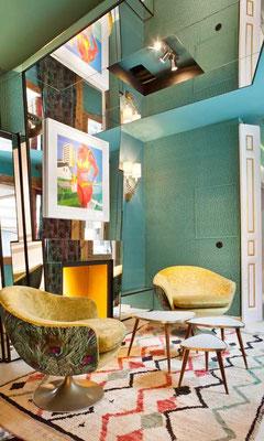 Todo respira elegancia y confort en este espacio de Aitor Viteri y Elena Lapeña.