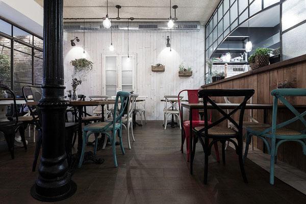Restaurante Mamá Chicó: comedor