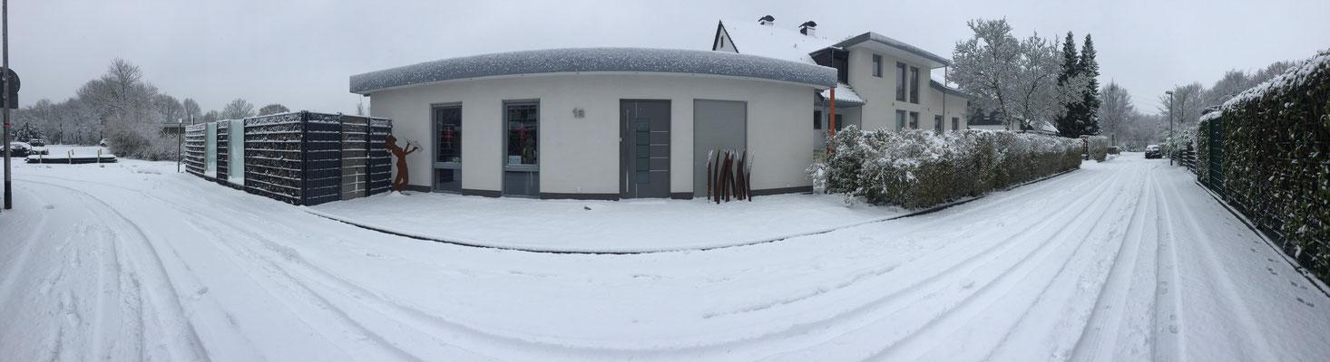 Belia's Home Ferienwohnung Winter Bungalow