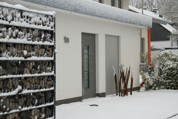 Belia's Home Ferienwohnung Bungalow Eingang