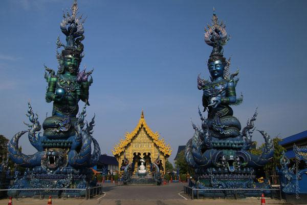 The blue tempel