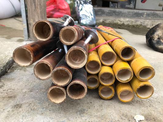 Vietnamesische Tabakpfeiffe / vietnamese pipe