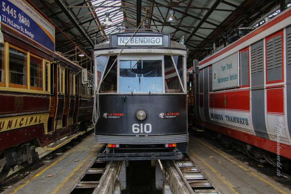 Bendigo Tram Station