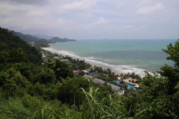 Sicht auf den Withe Sand Beach