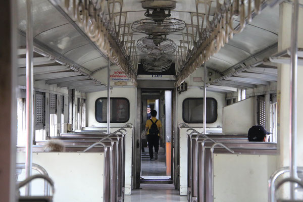 unser erster Zug...
