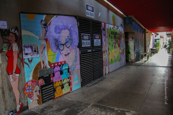 last walk through Bendigo
