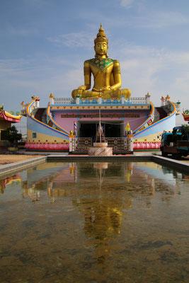 Beim Umstieg einmal mehr ein Buddha!