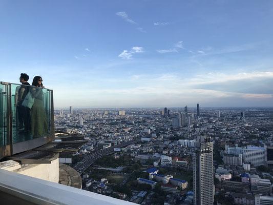 Aussicht auf die Stadt vom Lebua Tower