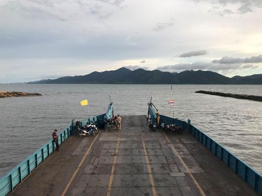 Überfahrt nach Koh Chang