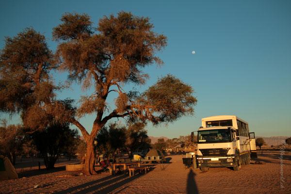 Unser Camping bei Sossusvlei!