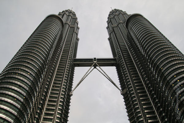Petronas Towers... als wir sie endlich sahen... / The Petronas Towers... we finally saw them...