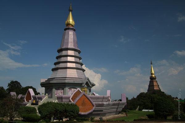 Die Tempelanlagen von Do Inthanon