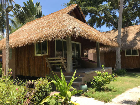 unser neues Resort-Hüttchen!
