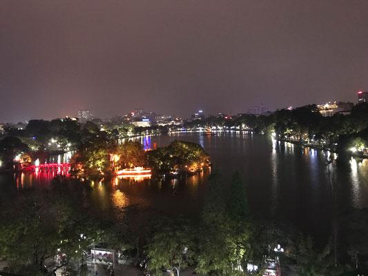 Nachtessen mit dieser Aussicht!! / Dinner with this view!