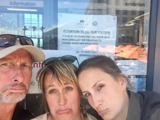 Leider findet die Robben Island Tour heute nicht statt!