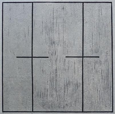 """Sensibles Gleichgewicht"" 30 x 30 cm"