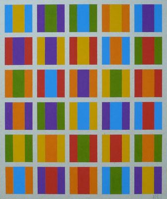 """""""Zweisamkeit, Variationen"""" 34 x 41 cm"""