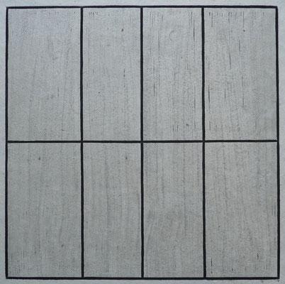 """""""Kreuzgebärde"""" 30 x 30 cm"""