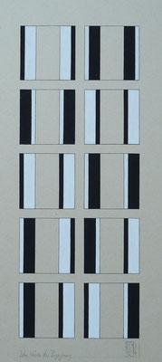 """""""Zehn Weisen der Begegnung"""" 13 x 34 cm"""