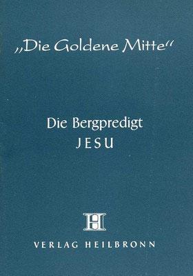Heft 3 - Die Bergpredigt Jesu