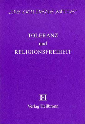 Heft 14 - Toleranz und Religionsfreiheit