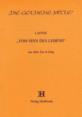 """Heft 27 - Laotse: """"Vom Sinn des Lebens"""""""