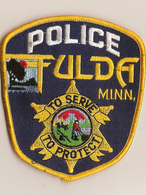 Police Dept. Fulda, Minnesota/USA