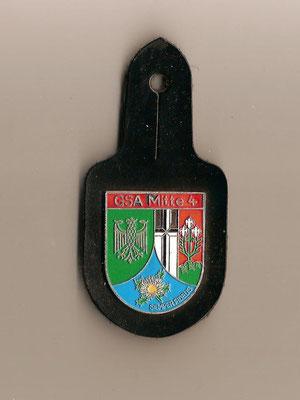Brusttaschenanhänger Grenzschutzabteilung Mitte 4
