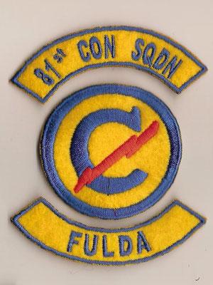 81st Constabulary Squadron Fulda (01.05.46-20.09.47)