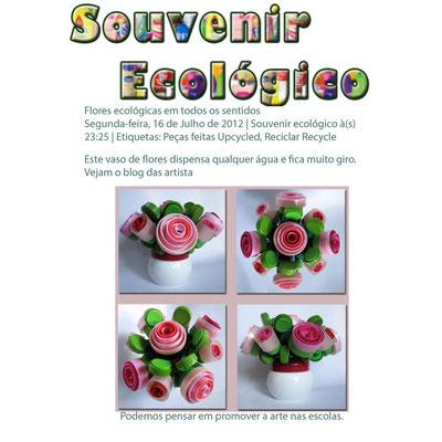 Sur le net : http://souvenirecologico.blogspot