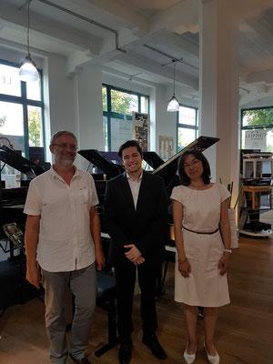 Leipzig mit Dirk Fischbeck und Victoria Flock Chopin-Gesellschaft