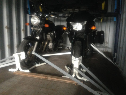 système de rack spécial moto