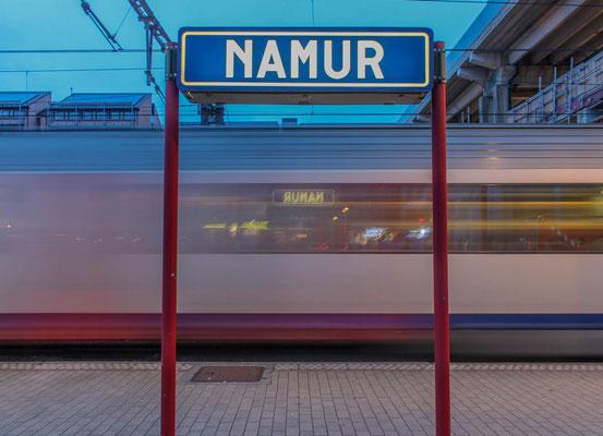 ©Emilie en Wallonie | Photographie | Les voyages en train | Gare de Namur