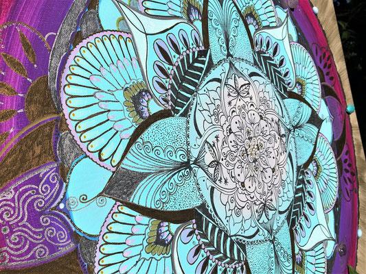 Bild mit Mandala