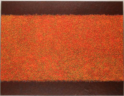 花 112.0×146.0㎝(2008) oil on board