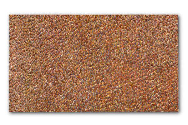 海 112.0×194.0㎝(2017) oil on canvas