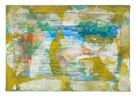 AC180720 16.0×22.5㎝(2018) acrylic on canvas
