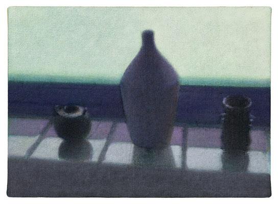 白昼夢 24.0×33.5㎝(2020) oil on canvas