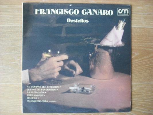 """Plattencover von Francisco Canaro """"Destellos"""" auf """"Tango Argentino von Vinyl"""" - Tango-DJ Enrique Jorge"""