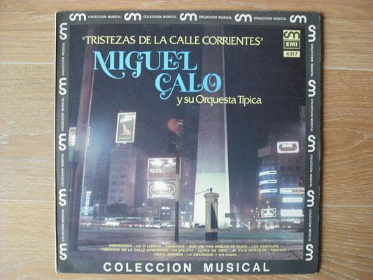 "Plattencover von Miguel Calo ""Tristezas De La Calla Corrientes"" auf ""Tango Argentino von Vinyl"" - Tango-DJ Enrique Jorge"