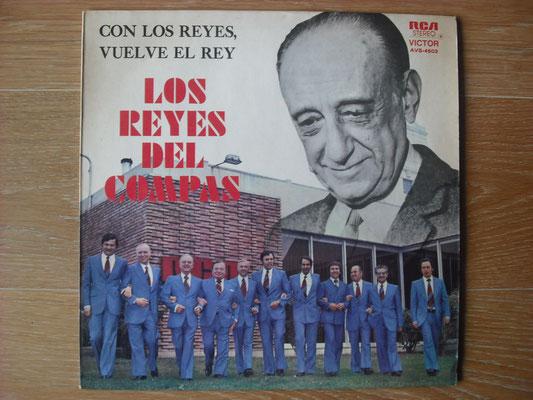 """Plattencover von Los Reyes """"Los Reyes Del Compas"""" auf """"Tango Argentino von Vinyl"""" - Tango-DJ Enrique Jorge"""