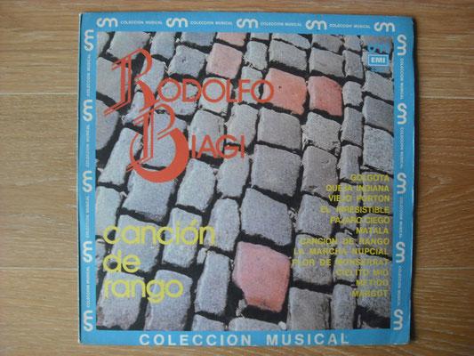 """Plattencover von Rodolfo Biagi """"Canción De Rango"""" auf """"Tango Argentino von Vinyl"""" - Tango-DJ Enrique Jorge"""