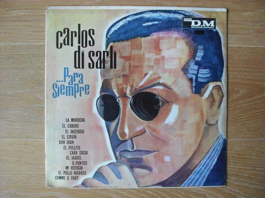 "Plattencover von Carlos Di Sarli ""Para Siempre"" auf ""Tango Argentino von Vinyl"" - Tango-DJ Enrique Jorge"