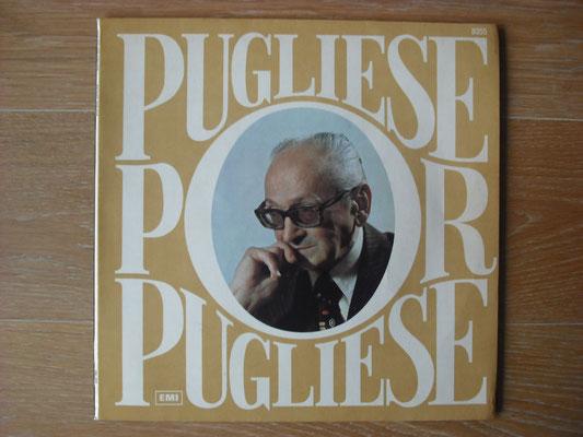"""Plattencover von Osvaldo Pugliese """"Pugliese Por Pugliese"""" auf """"Tango Argentino von Vinyl"""" - Tango-DJ Enrique Jorge"""