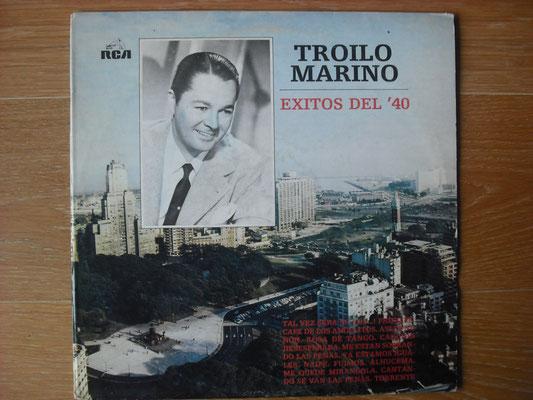 "Plattencover von Anibal Troilo, Canta: Alberto Marino ""Exitos Del ´40"" auf ""Tango Argentino von Vinyl"" - Tango-DJ Enrique Jorge"