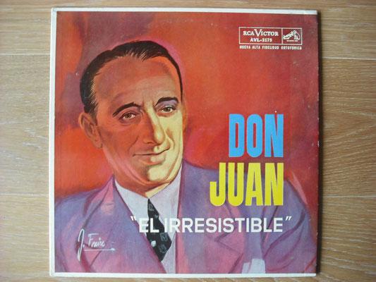 "Plattencover von Juan D´Arienzo ""Don Juan - El Irresistible"" auf ""Tango Argentino von Vinyl"" - Tango-DJ Enrique Jorge"
