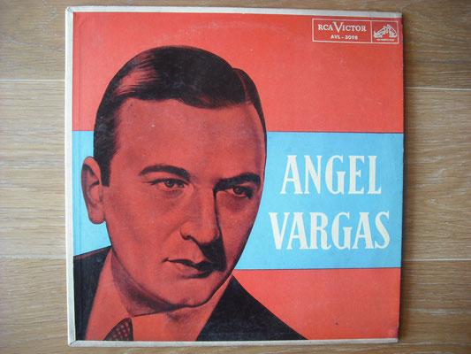 """Plattencover von Angel Vargas """"Angel Vargas"""" auf """"Tango Argentino von Vinyl"""" - Tango-DJ Enrique Jorge"""