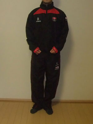 Tracksuit Top:XS、Tracksuit Pants:S(Inside leg:SHORT)